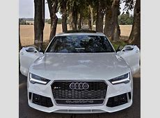"""Audi 2017 Unique Audi Photography on Instagram """"The new RS7 stands with open doors on an empty"""