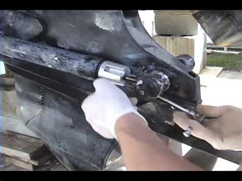 replace zinc anodes youtube