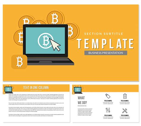 Looking for an entry point into the exciting world of bitcoin trading? Bitcoin Trading Platform Keynote templates   ImagineLayout.com