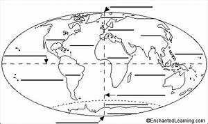 World Map Printout