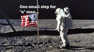 Neil Armstrong's moon landing speech was misquoted | CW39 ...