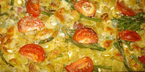 cuisiner des haricots beurre gratin de pâtes aux haricots verts je cuisine mon
