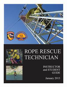 Rope Rescue Technician Manual By Hunter Flores