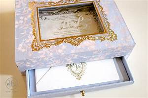 box wedding invitation lela new york luxury wedding With luxury wedding invitations in boxes