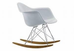 Chaise A Bascule Blanche : chaise bascule blanche eames rar vitra la maison de c ~ Teatrodelosmanantiales.com Idées de Décoration