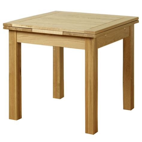 solid oak extending dining table room furniture extend