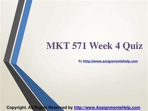 1000 images about mkt 571 week 4 quiz on