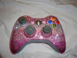Pink Bling Xbox Controller