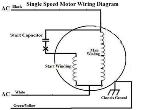 How Reverse The Rotation Single Phase Capacitor