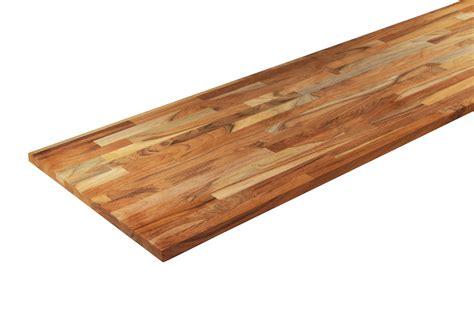 le bureau castorama etagère teck massif nature 18 mm la boutique du bois