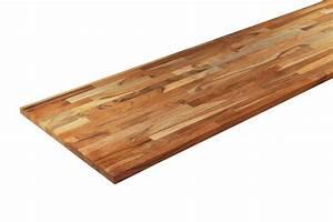 Planche De Bois Pour Bureau : etag re teck massif nature 18 mm la boutique du bois vente pour le bricolage ~ Teatrodelosmanantiales.com Idées de Décoration