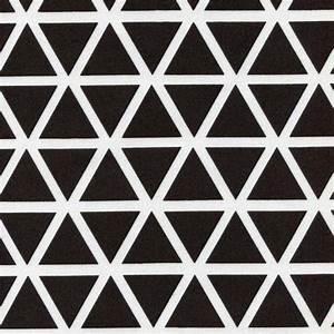 Grafische Muster Schwarz Weiß : stoff grafische muster stoff dreieick dreiecke schwarz wei grid ein designerst ck von ~ Bigdaddyawards.com Haus und Dekorationen