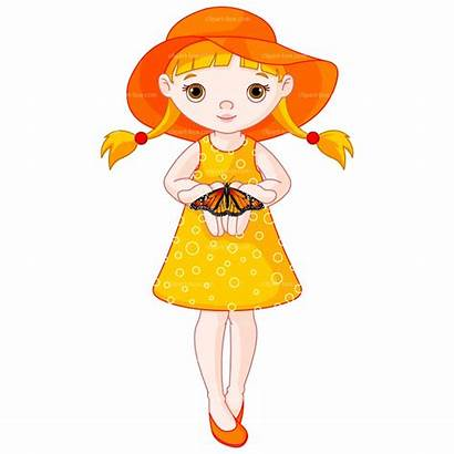 Clip Clipart Pretty Lady Cliparts Teen Illustrations