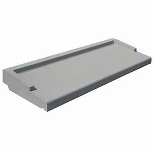 Appui De Fenetre Pvc : appui de fen tre ap lm 34130g gris l 1 3 x l m ~ Premium-room.com Idées de Décoration