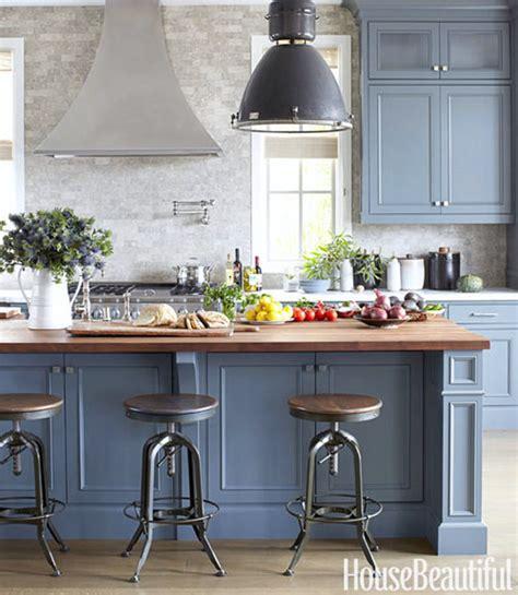 blue kitchen island kitchen cabinetry blue gray color home ideas interior design