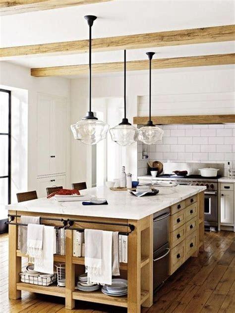cuisine en l avec ilot cuisine avec îlot central 43 idées inspirations