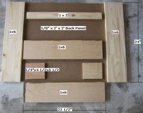 wooden gun rack plans easy diy woodworking projects step