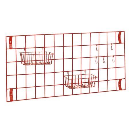 grille de cuisine grille murale de rangement compacte cuisine et marchande