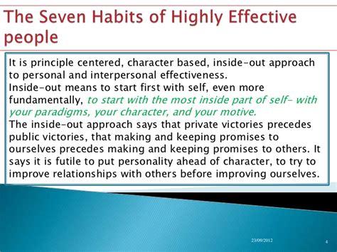 Resume 7 Habits resume 7 habits