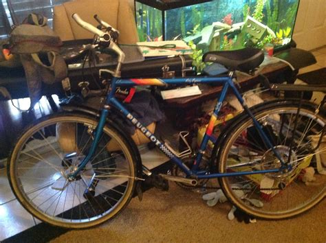 Peugeot Mountain Bike by Stolen 1985 Peugeot Mountain Bike Style