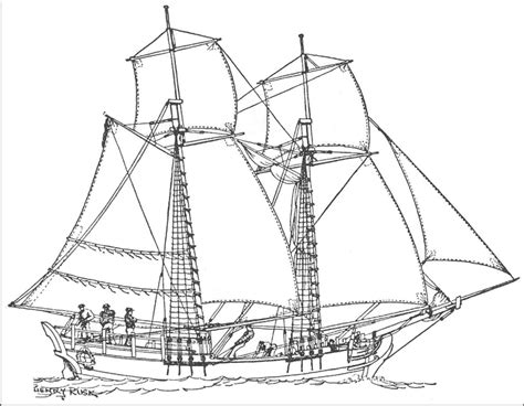 How To Draw A Tudor Boat by Boat Pirate Ship Pencil And In Color Boat
