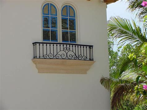 wrought iron balconies  architectural appeal