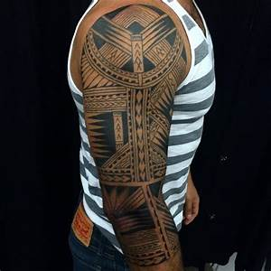 65+ Mysterious Traditional Tribal Tattoos For Men and ...