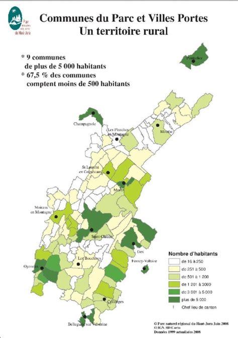 organisation des bureaux cartes toutes prêtes parc naturel régional du haut jura