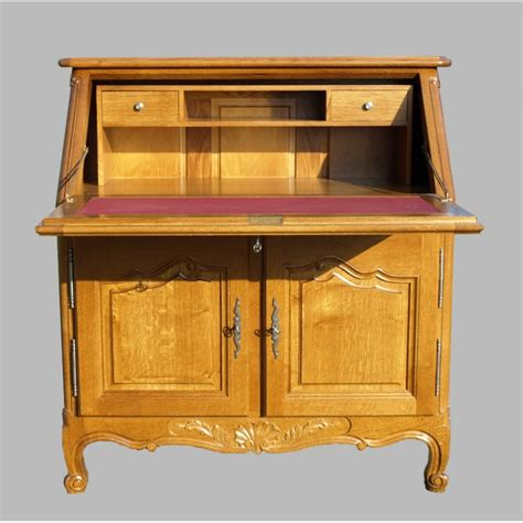 pin secretaire style louis xv blanc et patine alben168 createur on