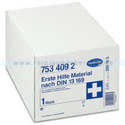erste hilfe material erste hilfe material hartmann nachf 252 llpackung din 13169