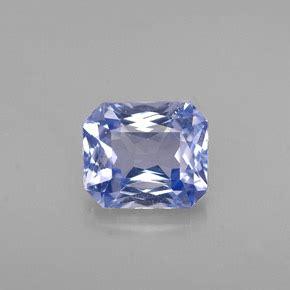 ct light blue sapphire gem  tanzania natural