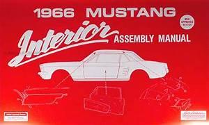 1966 Ford Cd Repair Shop Manual  U0026 Parts Book Mustang