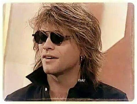 Rare Photo Jon Bon Jovi From Early Jbj