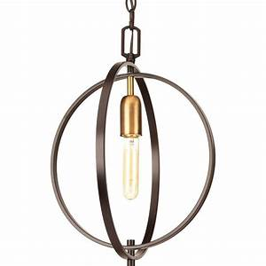 Progress lighting swing collection light antique bronze