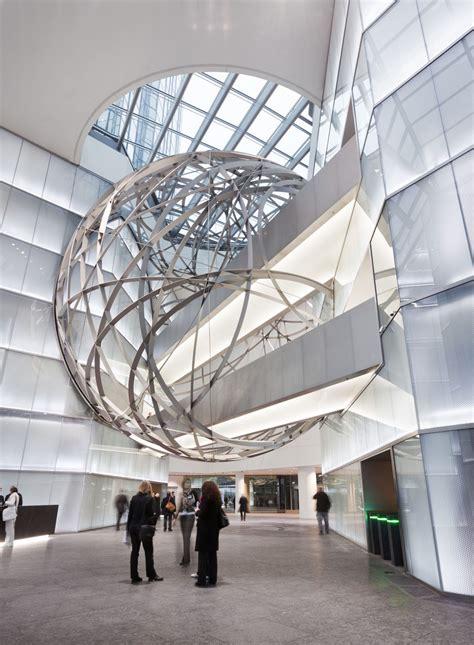 steel by design deutsche bank steel sphere in frankfurt idesignarch
