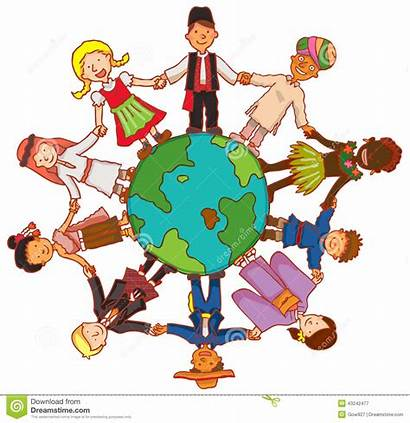 Culture Together Hands Children Circle Hold Friendship