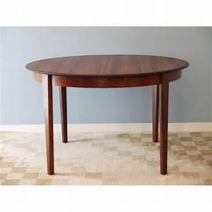 Table Scandinave Extensible : table ronde repas extensible design danois la maison retro ~ Teatrodelosmanantiales.com Idées de Décoration
