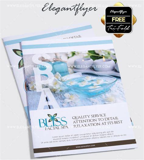 Free Relaxing Salon For Bi Fold Psd Brochure By Elegantflyer 50 Premium Free Psd Tri Fold Brochureb Templates For