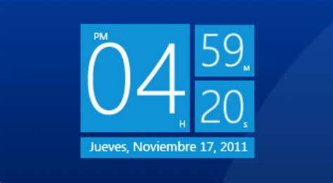 horloge sur le bureau windows 7 horloger télécharger