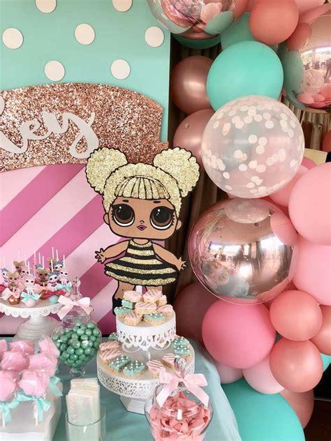birthday party ideas rookie lol doll birthday party ideas doll party dolls