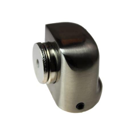 magnetic door stop adoored 38mm satin chrome half moon magnetic door stop