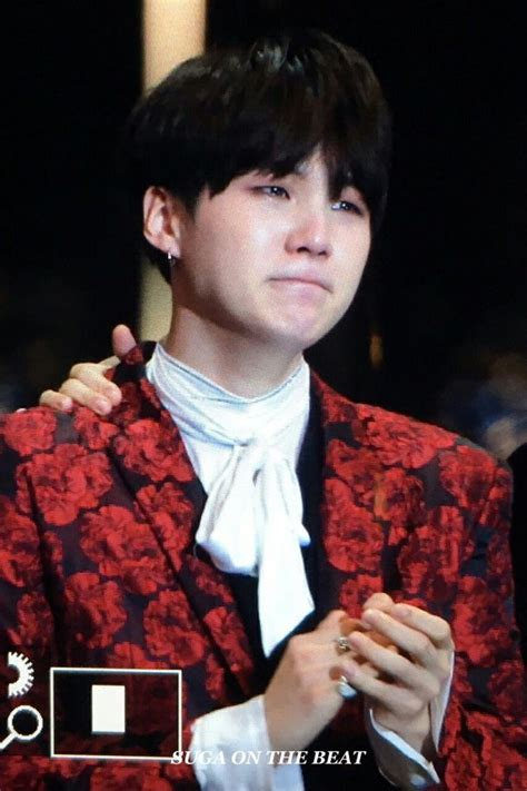 How Old Is Bts Suga Suga Crying Omg My Babies Pinterest Bts And Yoongi Bts