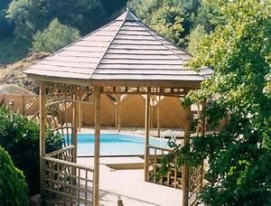 Tonnelle En Bambou : amenagement jardin avec pergola ~ Premium-room.com Idées de Décoration