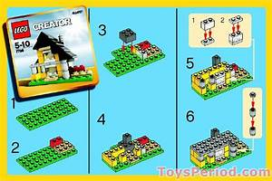 Lego 7796 House Set Parts Inventory And Instructions