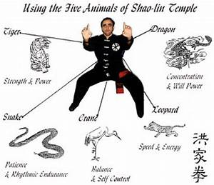 Famous Animal Style Kung Fu systems are: White Crane ...