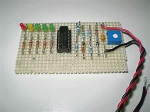 12v Battery Level Indicator Circuit