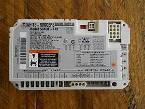 New Oem White Rodgers Furnace Fan Control Circuit Board