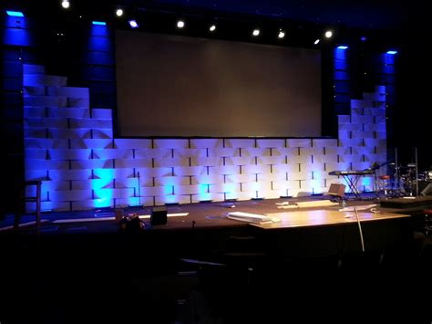 church stage designs interlocked church stage design ideas