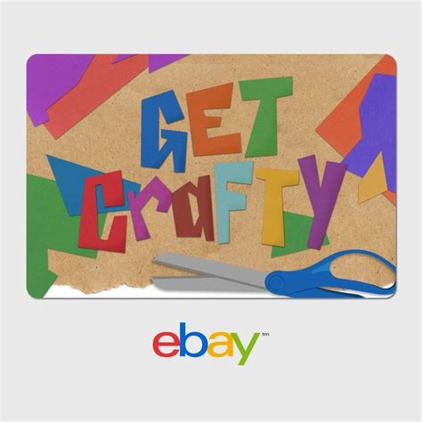details  ebay digital gift card arts crafts