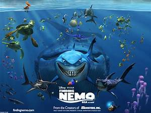 Finding Nemo Characters (03) | Finding Nemo Coloring Pages
